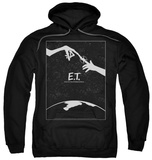Hoodie: E.T. - Simple Poster Pullover Hoodie