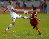 2014 MLS Playoffs: Nov 9, Real Salt Lake vs Los Angeles Galaxy - Landon Donovan, Tony Beltran Photo by Jake Roth