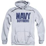 Hoodie: Navy - Boyfriend Pullover Hoodie