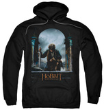 Hoodie: The Hobbit: The Battle of the Five Armies - Bilbo Poster Pullover Hoodie
