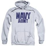 Hoodie: Navy - Aunt Pullover Hoodie