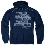 Hoodie: The Blues Brothers - Band Back Pullover Hoodie