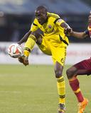 Jun 4, 2014 - MLS: Real Salt Lake vs Columbus Crew - Tony Tchani Photo by Greg Bartram
