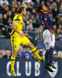 2014 MLS Playoffs: Nov 9, Columbus Crew vs New England Revolution - Jermaine Jones, Tyson Wahl Photo by Winslow Townson