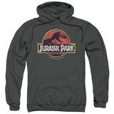 Hoodie: Jurassic Park - Stone Logo Pullover Hoodie