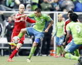 Mar 15, 2014 - MLS: Toronto FC vs Seattle Sounders - Clint Dempsey Photo by Joe Nicholson