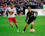 2014 MLS Playoffs: Nov 8, New York Red Bulls vs D.C. United - Eric Alexander, Chris Rolfe Photo by Brad Mills