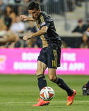 Aug 9, 2014 - MLS: Montreal Impact vs Philadelphia Union - Sebastien Le Toux Photo by John Geliebter