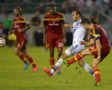 2014 MLS Playoffs: Nov 9, Real Salt Lake vs Los Angeles Galaxy - Landon Donovan, Chris Wingert Photo by Jake Roth