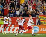 Aug 2, 2014 - MLS: New England Revolution vs New York Red Bulls - Dax McCarty, Chris Duvall Photo by Adam Hunger