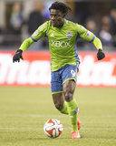 2014 MLS Western Conference Championship: Nov 30, LA Galaxy vs Seattle Sounders - Obafemi Martins Photo af Joe Nicholson