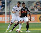 Jun 7, 2014 - MLS: Vancouver Whitecaps vs Philadelphia Union - Nicolas Mezquida, Sheanon Williams Photo by John Geliebter