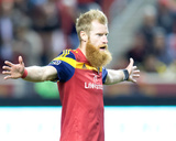 Oct 22, 2014 - MLS: Chivas USA vs Real Salt Lake - Nat Borchers Photo by Russell Isabella