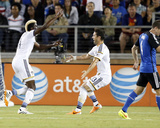 Jun 28, 2014 - MLS: Los Angeles Galaxy vs San Jose Earthquakes - Jon Busch, Gyasi Zardes Photo by Robert Stanton