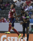May 31, 2014 - MLS: Philadelphia Union vs Chivas USA - Erick Torres, Amobi Okugo Photo by Kelvin Kuo