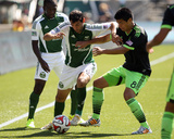 Aug 24, 2014 - MLS: Seattle Sounders vs Portland Timbers - Diego Valeri Photo by Jaime Valdez
