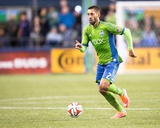2014 MLS Playoffs: Nov 10, FC Dallas vs Seattle Sounders - Clint Dempsey Photo af Joe Nicholson