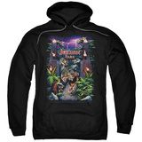 Hoodie: Jurassic Park - Welcome To The Park Pullover Hoodie