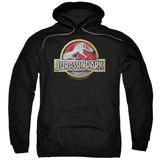 Hoodie: Jurassic Park - Logo Pullover Hoodie
