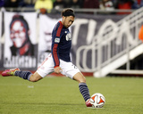 Apr 26, 2014 - MLS: Sporting KC vs New England Revolution - Lee Nguyen Photo by Stew Milne