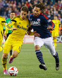 2014 MLS Playoffs: Nov 9, Columbus Crew vs New England Revolution - Jermaine Jones Photo by Winslow Townson