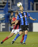 2014 MLS Champions League: Aug 5, FAS vs Montreal Impact - Justin Mapp Photo by Eric Bolte