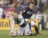 Aug 16, 2014 - MLS: Portland Timbers vs New England Revolution - Kelyn Rowe Photo by Stew Milne