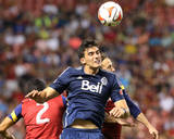 Jul 19, 2014 - MLS: Vancouver Whitecaps vs Real Salt Lake - Ned Grabavoy, Omar Salgado Photo by Chris Nicoll