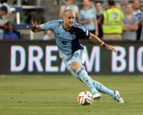 May 27, 2014 - MLS: New York Red Bulls vs Sporting KC - Aurelien Collin Photo by John Rieger