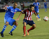 Jul 5, 2014 - MLS: Montreal Impact vs Chivas USA - Erick Torres, Matteo Ferrari Photo by Jayne Kamin-Oncea