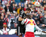 2014 MLS Playoffs: Nov 8, New York Red Bulls vs D.C. United - Ambroise Oyongo Photo by Geoff Burke