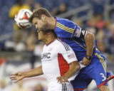 Jul 30, 2014 - MLS: Colorado Rapids vs New England Revolution - Charlie Davies, Drew Moor Photo by Stew Milne