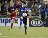 Apr 12, 2014 - MLS: Chicago Fire vs Montreal Impact - Felipe Martins Photo by Eric Bolte