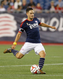Sep 7, 2014 - MLS: Chicago Fire vs New England Revolution - Kelyn Rowe Photo by Stew Milne
