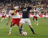 Aug 2, 2014 - MLS: New England Revolution vs New York Red Bulls - Patrick Mullins, Roy Miller Photo by Adam Hunger