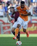 Jun 1, 2014 - MLS: Houston Dynamo vs Colorado Rapids - Giles Barnes Photo by Ron Chenoy