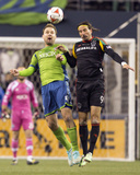 2014 MLS Western Conference Championship: Nov 30, LA Galaxy vs Seattle Sounders - Chad Marshall Photo by Joe Nicholson