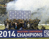 2014 MLS Western Conference Championship: Nov 30, LA Galaxy vs Seattle Sounders Photo by Steven Bisig