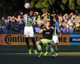 2014 MLS U.S. Open Cup: Jul 9, Portland Timbers vs Seattle Sounders - Diego Chara, Cam Weaver Photo by Steven Bisig