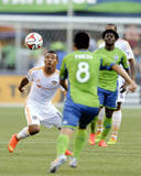 Aug 10, 2014 - MLS: Houston Dynamo vs Seattle Sounders - Luis Garrido Photo by Steven Bisig