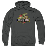Hoodie: Jurassic Park - Retro Rex Pullover Hoodie