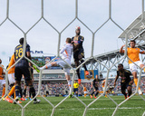 Apr 19, 2014 - MLS: Houston Dynamo vs Philadelphia Union - Maurice Edu Photo by John Geliebter