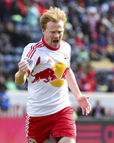 Mar 23, 2014 - MLS: New York Red Bulls vs Chicago Fire - Dax McCarty Photo by Mike Dinovo