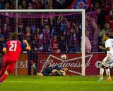 Oct 24, 2014 - MLS: Houston Dynamo vs Chicago Fire - Tyler Deric, Florent Sinama-Pongolle Photo by Guy Rhodes