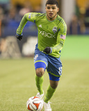 2014 MLS Western Conference Championship: Nov 30, LA Galaxy vs Seattle Sounders - DeAndre Yedlin Photo by Joe Nicholson