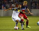 Aug 2, 2014 - MLS: Columbus Crew vs Chicago Fire - Jeff Larentowicz, Federico Higuain Photo by Mike Dinovo