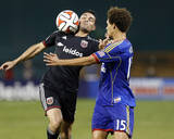 Aug 17, 2014 - MLS: Colorado Rapids vs D.C. United - Fabian Espindola, Chris Klute Photo by Geoff Burke