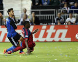 Jul 23, 2014 - MLS: Chicago Fire vs San Jose Earthquakes - Chris Wondolowski, Jhon Kennedy Hurtado Photo by Kelley L Cox