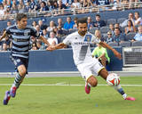 Jul 19, 2014 - MLS: Los Angeles Galaxy vs Sporting KC - Marcelo Sarvas, Igor Juliao Photo by Gary Rohman