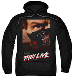 Hoodie: They Live - Poster Pullover Hoodie